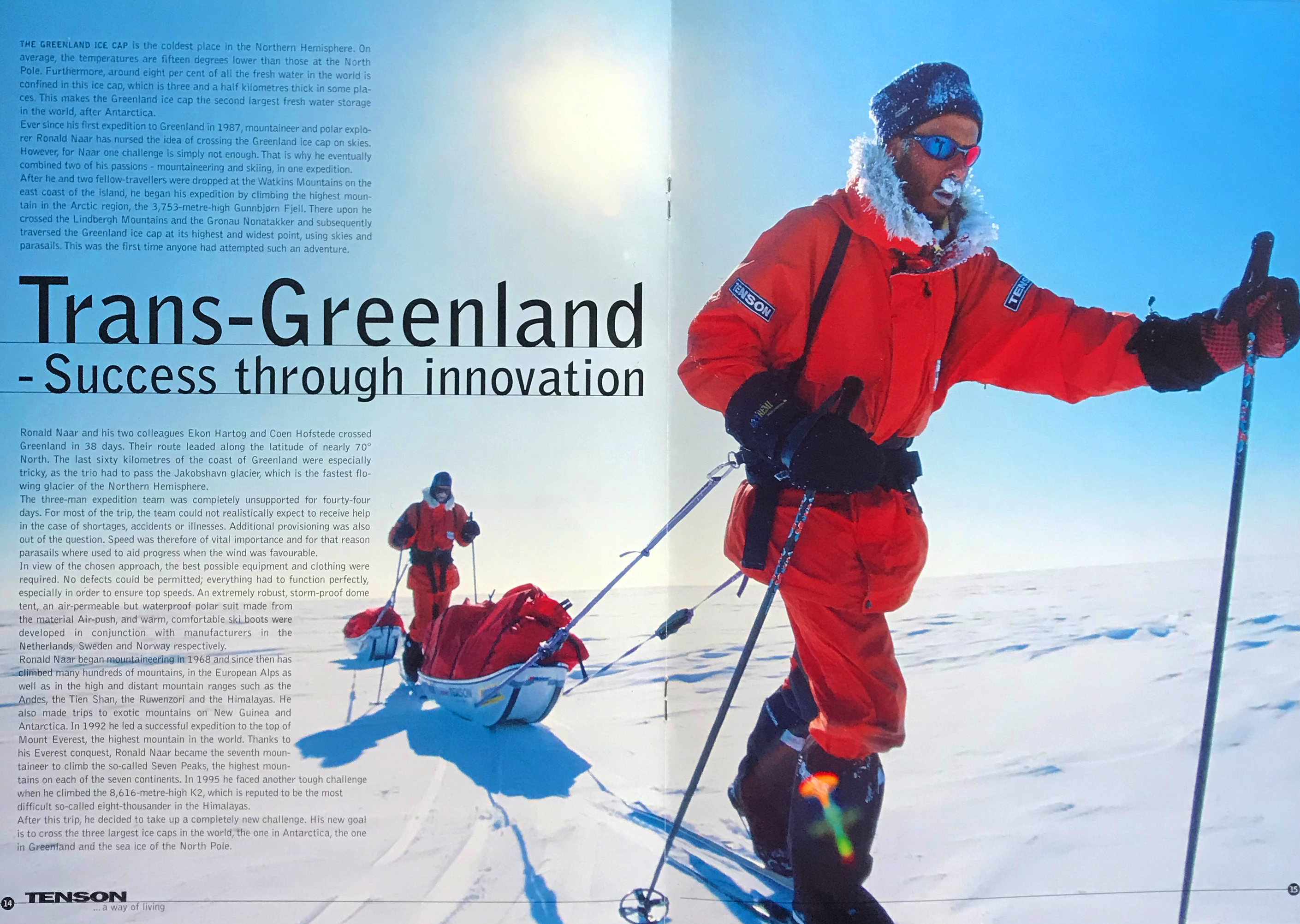Trans-Greenland - TENSON