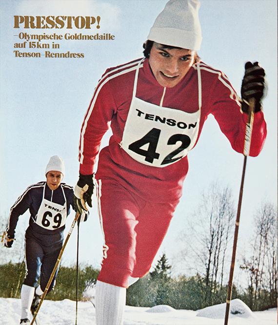 Olympische Goldmedaille - Tenson-Renndress